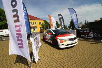 Gravel Fest Rally 2020 startas. Lazdijuose daugiau nei 80 ekipažų. Straipsnis/fofo.