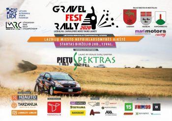 Į Lazdijų rajoną žengiantis Gravel Fest Rally 2020 atidarys lietuviško ralio sezoną. gazas.lt